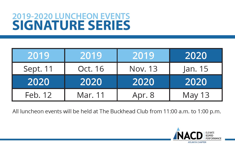 Atlanta Calendar Of Events 2020 Events — Atlanta — NACD