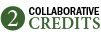 2 NACD collaborative credits